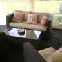 Rattan Seating with Customer Cushions