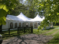 high peak and clearspan marquees